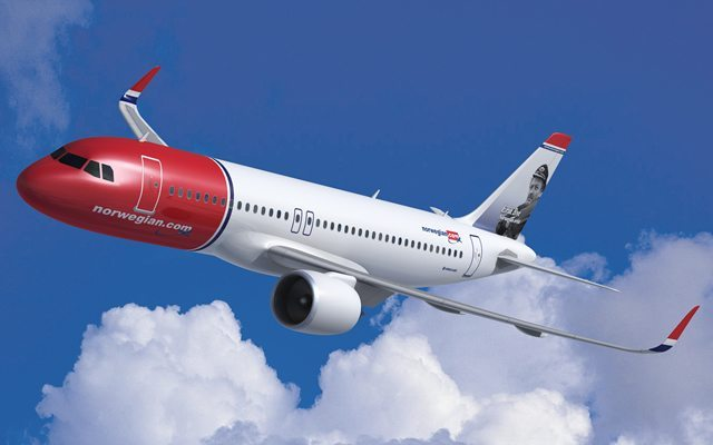 Norwegian b787
